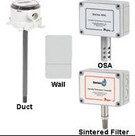 DWYER Transmisior de humedad y temperatura